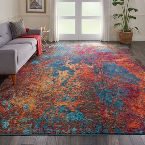 Multi Coloured Celestial Atlantic Rug