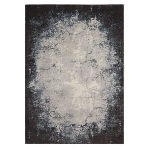 Ivory and Grey Maxell Rug Grey undefined