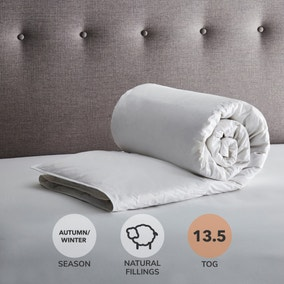 Fogarty White Goose Feather and Down 13.5 Tog Duvet