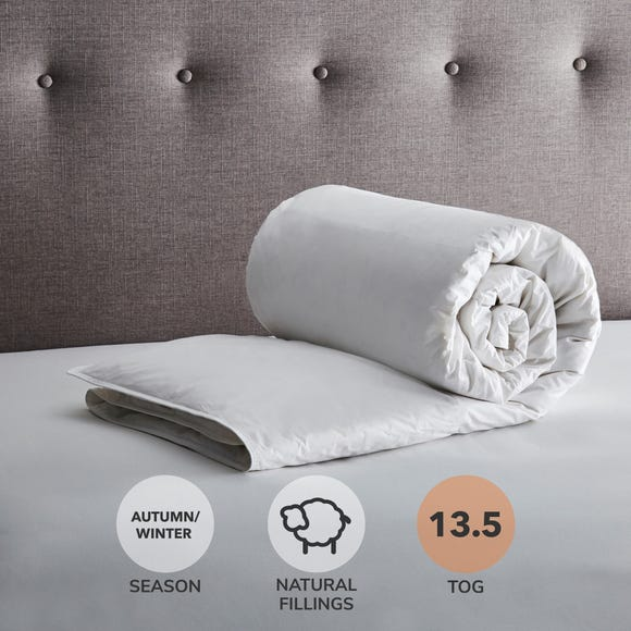 Fogarty Anti Allergy White Goose Feather and Down 13.5 Tog Duvet  undefined