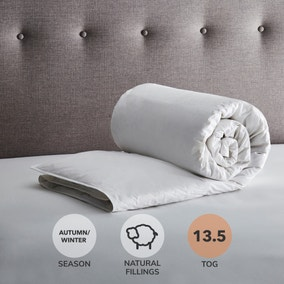 Fogarty Anti Allergy White Goose Feather and Down 13.5 Tog Duvet