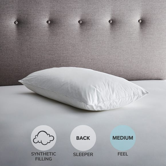 Fogarty Down Touch Medium-Support Pillow White