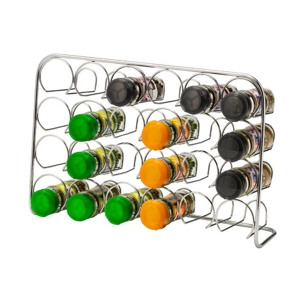 Hahn Pisa Chrome 24 Jar Spice Rack