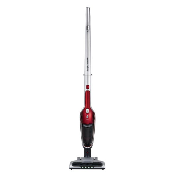 Morphy Richards 732102 Supervac 2-in-1 Cordless Vacuum Cleaner Red