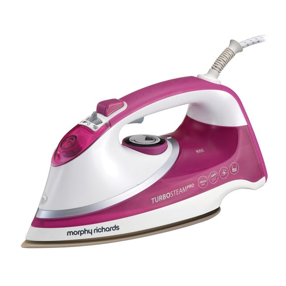 Morphy Richards 303123 Turbosteam Iron Pink