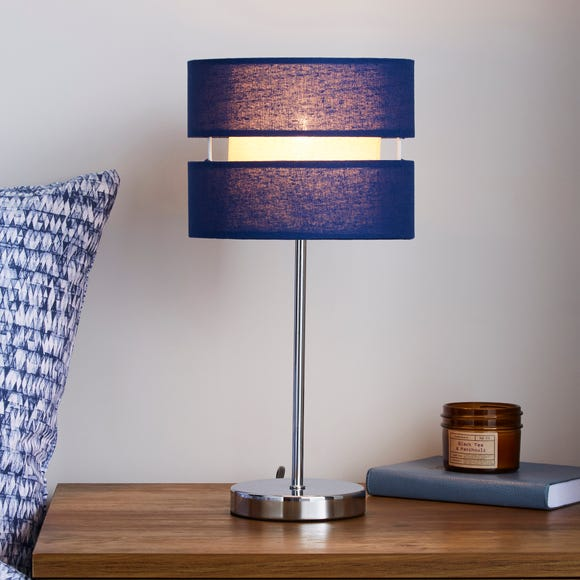 Frea Navy Table Lamp Navy
