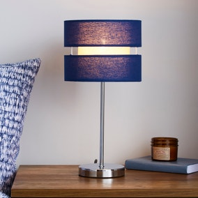 Frea Navy Table Lamp