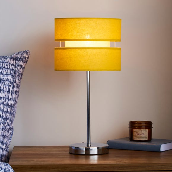 Frea Ochre Table Lamp Ochre