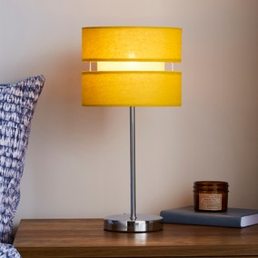 Frea Ochre Table Lamp