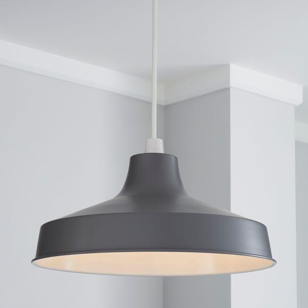 Stern 39cm Grey Easy Fit Pendant Grey