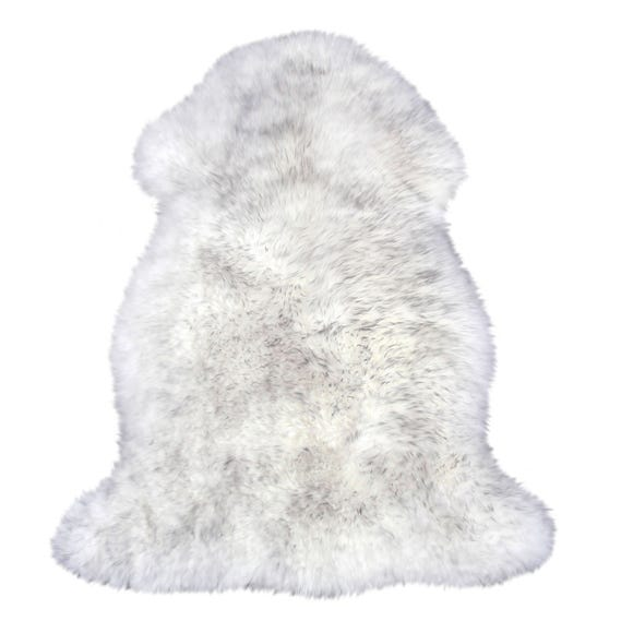 Sheepskin Rug Sheepskin Light Grey