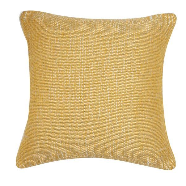 Velvet Juno Cushion Cover Ochre undefined