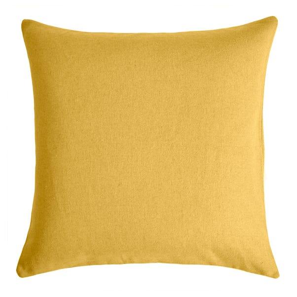 Felt Cushion Cover Yellow undefined