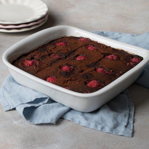 Pyrex Supreme 24cm Square Roaster White