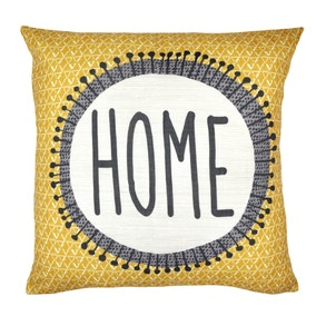 Home Ochre Cushion