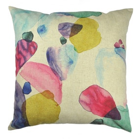 Impressionist Large Abstract Cushion