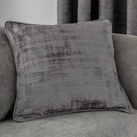 Ruben Grey Velvet Cushion