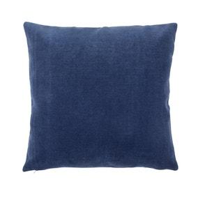 Velour Indigo Cushion