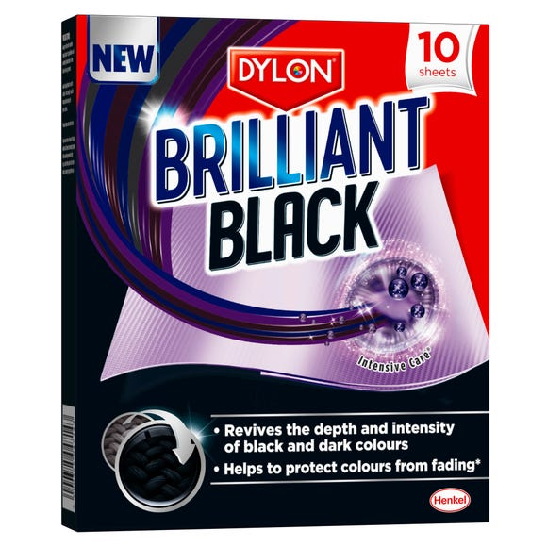 Pack of 10 Dylon Brilliant Black Sheets