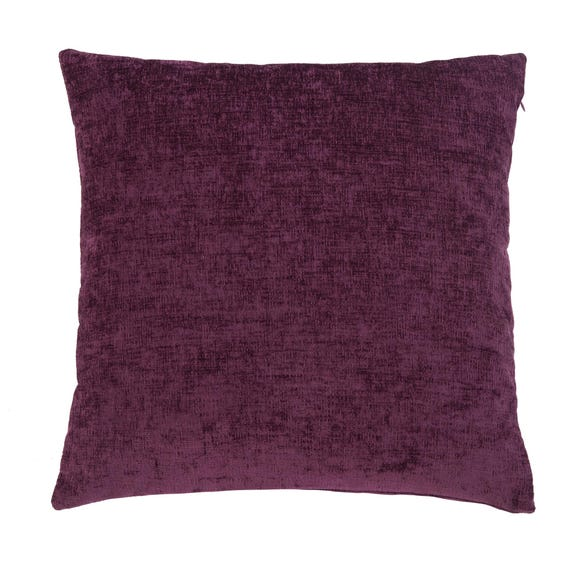 Chenille Cushion Purple undefined