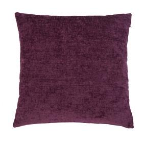 Large Chenille Purple Cushion