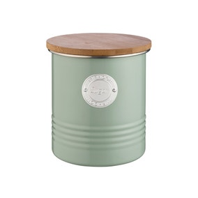 Typhoon Living Sage Coffee Canister