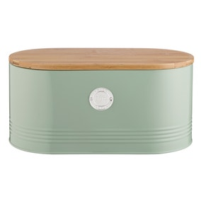 Typhoon Living Sage Bread Bin