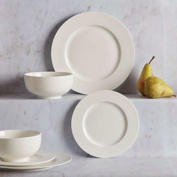 Bala 12 Piece Dinner Set White