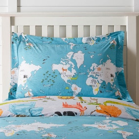 My World Oxford Pillowcase