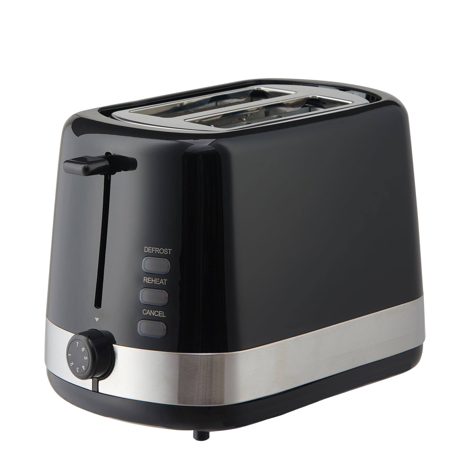 Click to view product details and reviews for Dunelm Black 2 Slice Toaster Black.