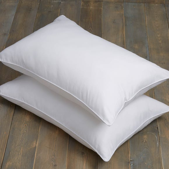 Teflon All in One Medium Support Ultimate Pillow Pair White