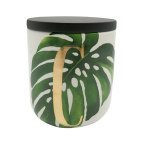Voyager Leaf Coffee Canister