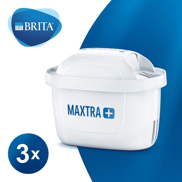 BRITA MAXTRA+ Water Filter Cartridges - 3 Pack White