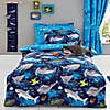 Sharks Reversible Duvet Cover and Pillowcase Set  undefined