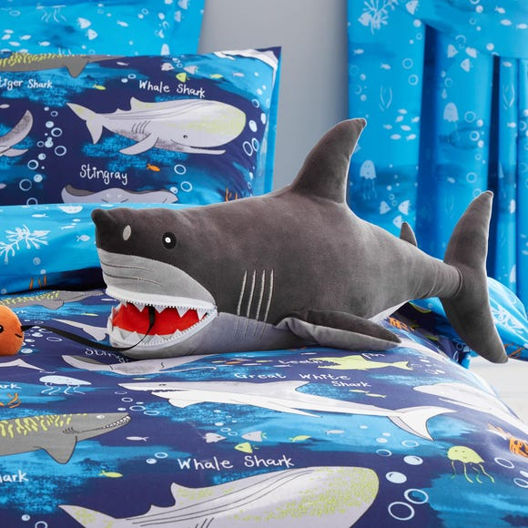 Shark Plush Grey