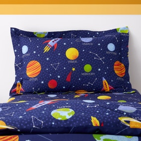 Space Navy Oxford Pillowcase