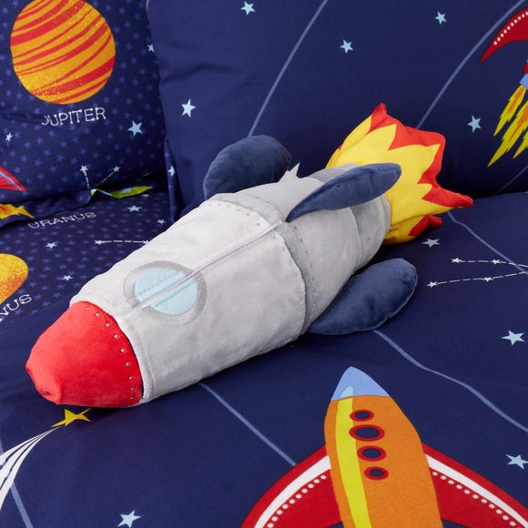 Space Rocket Plush MultiColoured