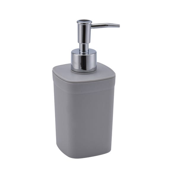 Plastic Light Grey Lotion Dispenser Grey