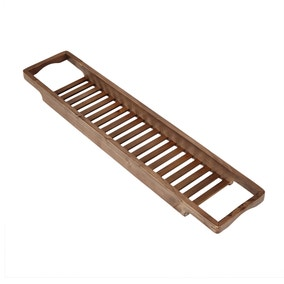Washed Wood Bath Rack
