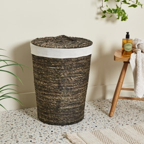 Voyager Brown Laundry Basket