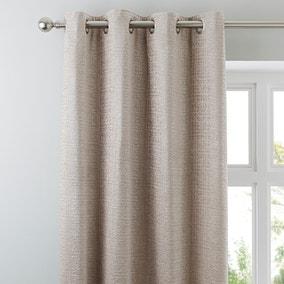 Newby Natural Eyelet Curtains
