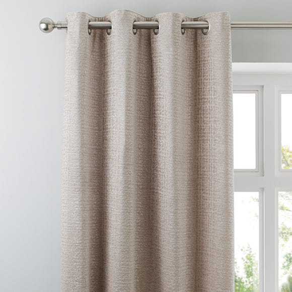 Newby Natural Eyelet Curtains  undefined