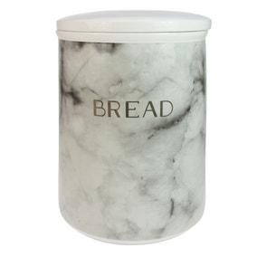 Marble Effect Bread Bin