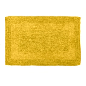 Super Soft Reversible Mustard Bath Mat
