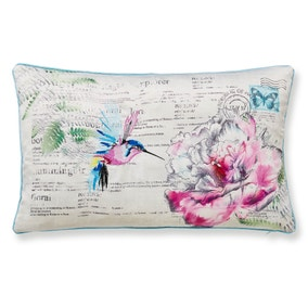 Heavenly Hummingbird Cushion
