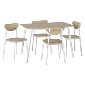 Riley 4 Seater Dining Set