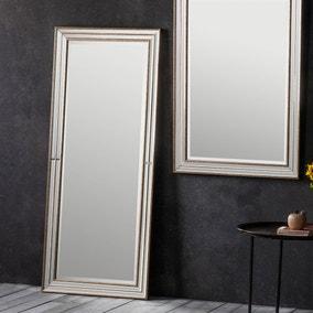 Squire Gold 154x65cm Leaner Mirror