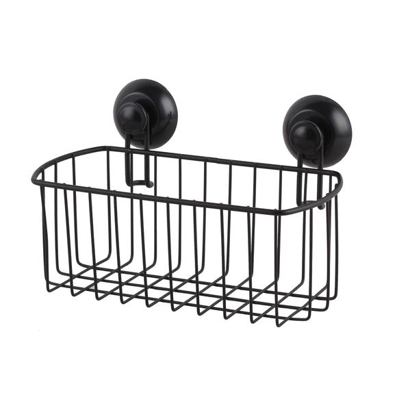 Black Wire Suction Caddy Black