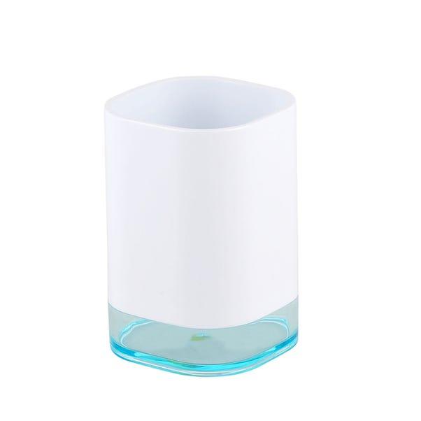 White Plastic Tumbler White