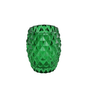 Embossed Glass Tumbler